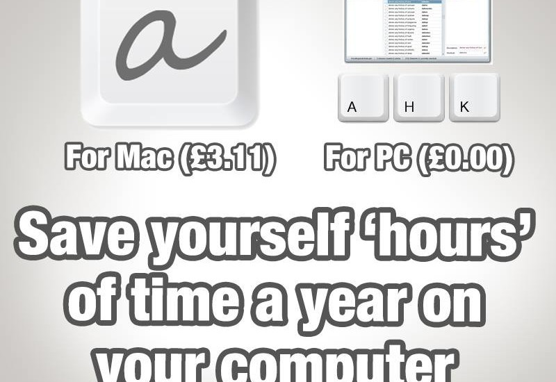 Getting computers to do simple tasks for you gives you more time to do the thing…