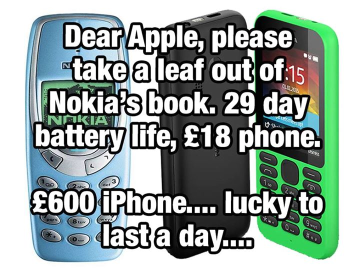 Dear Apple, take a leaf out of Nokia's book
