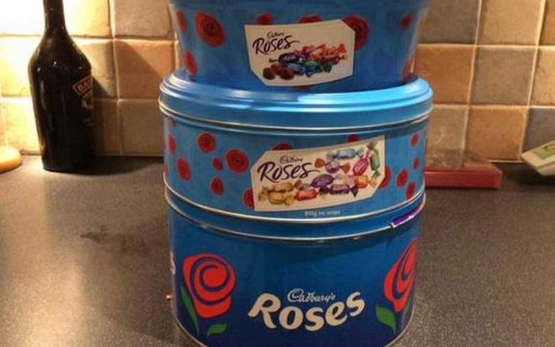 Christmas is ruined – Cadbury to make Roses & Heroes Choc Boxes even smaller!