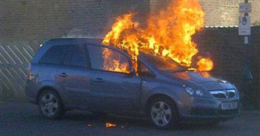 Vauxhalls Catching Fire! 130 so far gone up in flames!