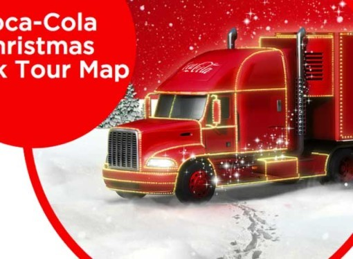 Go and play into marketers hands and see the Coca Cola trucks / get a free can of coke