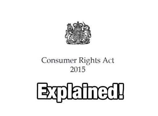Consumer Rights Act 2015 Explained (replaces Sale of Goods Act 1979)