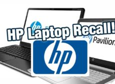 HP Recalls Laptops / Notebooks over fears of fires and burns (HP, Compaq, HP ProBook, HP ENVY, Compaq Presario, and HP Pavilion Notebook)